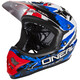 ONeal Backflip Fidlock - Casco de bicicleta - RL2 Shocker azul/Multicolor